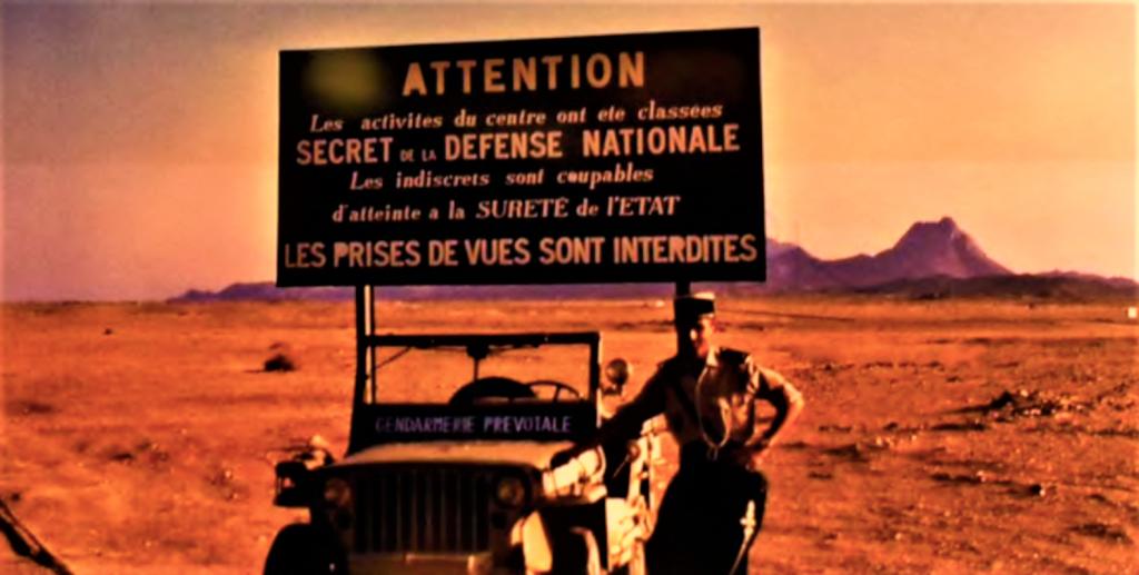 SAHARA et essais nucléaires  Prises de vues interditespng